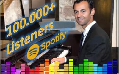 Oscar Pascasio alcanza los 100.000 oyentes mensuales en Spotify